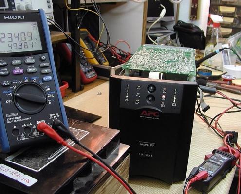 خرابی باتری یو پی اس