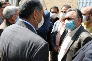 دیدار استاندار قزوین با مهندس خسرو جرجانی